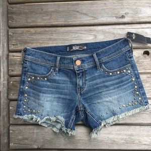 Hollister Studded Midi Short